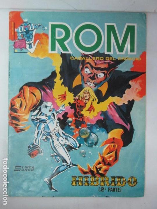 ROM CABALLERO DEL ESPACIO. MUNDI COMICS. Nº6. EDICIONES SURCO 1983. VER FOTOGRAFIAS ADJUNTAS (Tebeos y Comics - Vértice - Surco / Mundi-Comic)