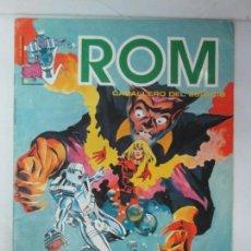 Cómics: ROM CABALLERO DEL ESPACIO. MUNDI COMICS. Nº6. EDICIONES SURCO 1983. VER FOTOGRAFIAS ADJUNTAS. Lote 133216582