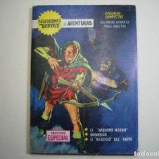 Cómics: SELECCIONES VERTICE (1968, VERTICE) 4 · 1968 · EL ARQUERO NEGRO ***DIFICIL***. Lote 133242074