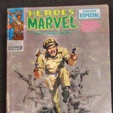 Cómics: HEROES MARVEL CON EL CAPITAN SAVAGE. VERTICE Nº 3. Lote 133248951