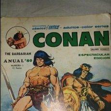 Cómics: CONAN THE BARBARIAN ANUAL 80 ESTADO NORMAL . Lote 133350530