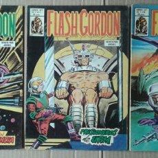 Cómics: LOTE FLASH GORDON DE EDICIONES VÉRTICE (1980). VOL. 2, NÚMEROS 14-17-19.. Lote 133397083