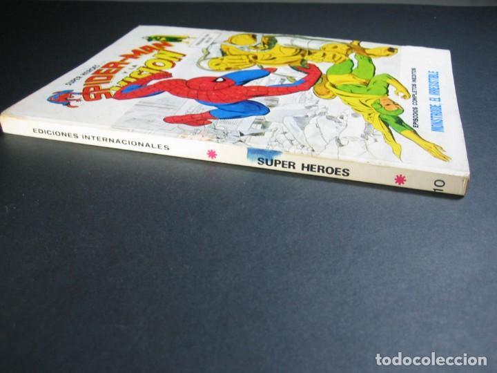 Cómics: SUPER HEROES (1973, VERTICE) 10 · VII-1974 · MONSTROIDE, EL IRRESISTIBLE - Foto 3 - 133404310