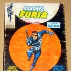 """Cómics: CORONEL FURIA NICK FURY Nº 2 EL ORIGEN DE """" ESCUDO"""" 128 PAGINAS AÑO 1968 VERTICE BUEN ESTADO. Lote 133458166"""