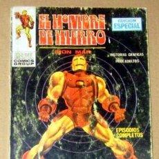 Cómics: EL HOMBRE DE HIERRO- IRON MAN Nº 1 128 PAGINAS AÑO 1969 VERTICE BUEN ESTADO. Lote 133458242