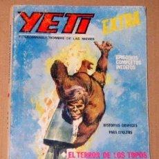 Cómics: YETI EXTRA Nº 5 128 PAGINAS AÑO 1968 VERTICE BUEN ESTADO DETALLES . Lote 133458318