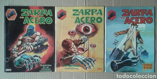 LOTE ZARPA DE ACERO, NÚMEROS 1-2-3-4-5 (EDICIONES SURCO, 1983). LÍNEA 83 / SURCO. (Tebeos y Comics - Vértice - Fleetway)
