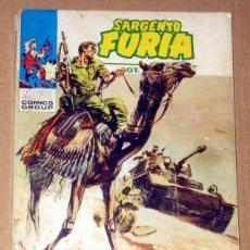 Cómics: SARGENTO FURIA Nº 6 - 128 PAGINAS AÑO 1972 VERTICE BUEN ESTADO. Lote 133470278