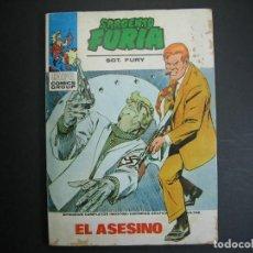 Cómics: SARGENTO FURIA (1972, VERTICE) 26 · 1972 · EL ASESINO. Lote 133480850