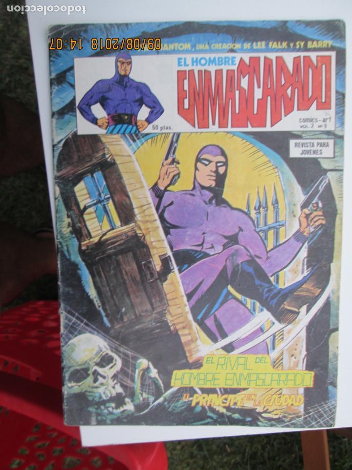 EL HOMBRE ENMASCARADO VOL.2 Nº 9.- COMICS-ART - ED. VERTICE 1980 (Tebeos y Comics - Vértice - Hombre Enmascarado)