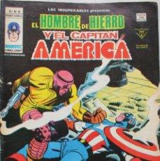 Cómics: MARVEL COMICS GROUP- EL HOMBRE DE HIERRO Y EL CAPITAN AMERICA-V-1 Nº16 -1973 NM. Lote 133624546