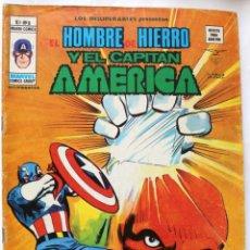 Cómics: MARVEL COMICS GROUP- EL HOMBRE DE HIERRO Y EL CAPITAN AMERICA-V-1 Nº8 -1973 NM. Lote 133624822