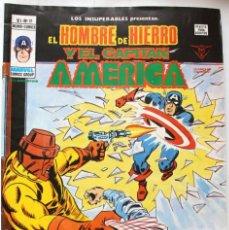 Cómics: MARVEL COMICS GROUP- EL HOMBRE DE HIERRO Y EL CAPITAN AMERICA-V-1 Nº17 -1973 NM. Lote 133625062