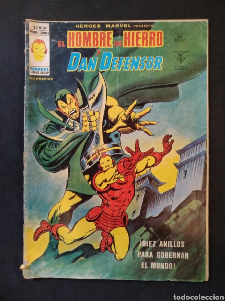 EL HOMBRE DE HIERRO, VERTICE VOL 2, N° 44 (Tebeos y Comics - Vértice - Hombre de Hierro)