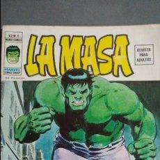 Cómics: LA MASA VOL.2 N° 6. VERTICE ESTADO BUENO PRECIO NEGOCIABLE. Lote 133793686