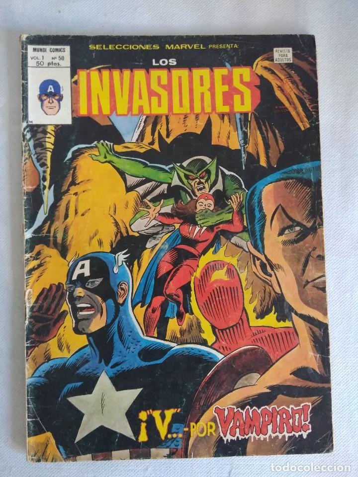 VERTICE/SELECCIONES MARVEL Nº50/LOS INVASORES. (Tebeos y Comics - Vértice - Otros)