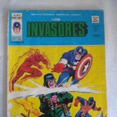 Cómics: VERTICE/SELECCIONES MARVEL Nº17/LOS INVASORES.. Lote 134045126