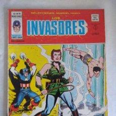 Cómics: VERTICE/SELECCIONES MARVEL Nº16/LOS INVASORES.. Lote 134045170