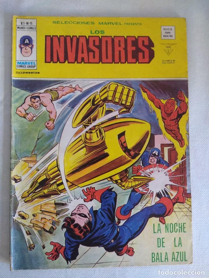 VERTICE/SELECCIONES MARVEL N11/LOS INVASORES. (Tebeos y Comics - Vértice - Otros)