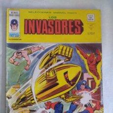 Cómics: VERTICE/SELECCIONES MARVEL N11/LOS INVASORES.. Lote 134045254