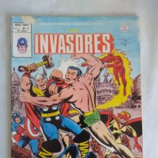Cómics: VERTICE/SELECCIONES MARVEL N43/LOS INVASORES.. Lote 134045322