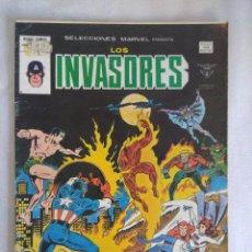 Cómics: VERTICE/SELECCIONES MARVEL N51/LOS INVASORES.. Lote 134045374