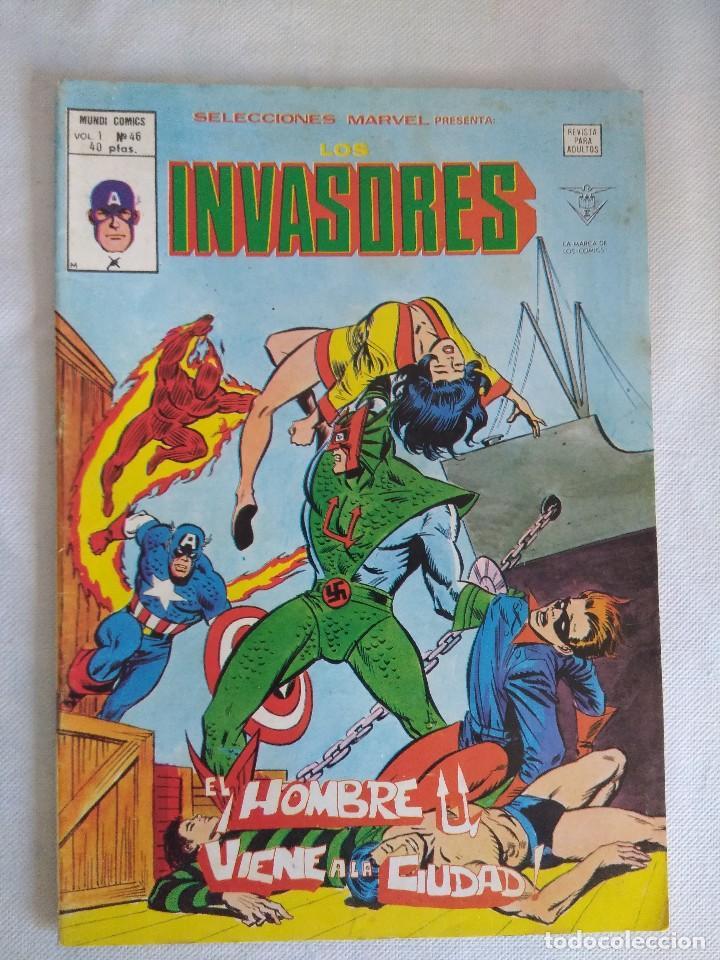 VERTICE/SELECCIONES MARVEL N46/LOS INVASORES. (Tebeos y Comics - Vértice - Otros)
