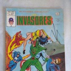 Cómics: VERTICE/SELECCIONES MARVEL N46/LOS INVASORES.. Lote 134045398