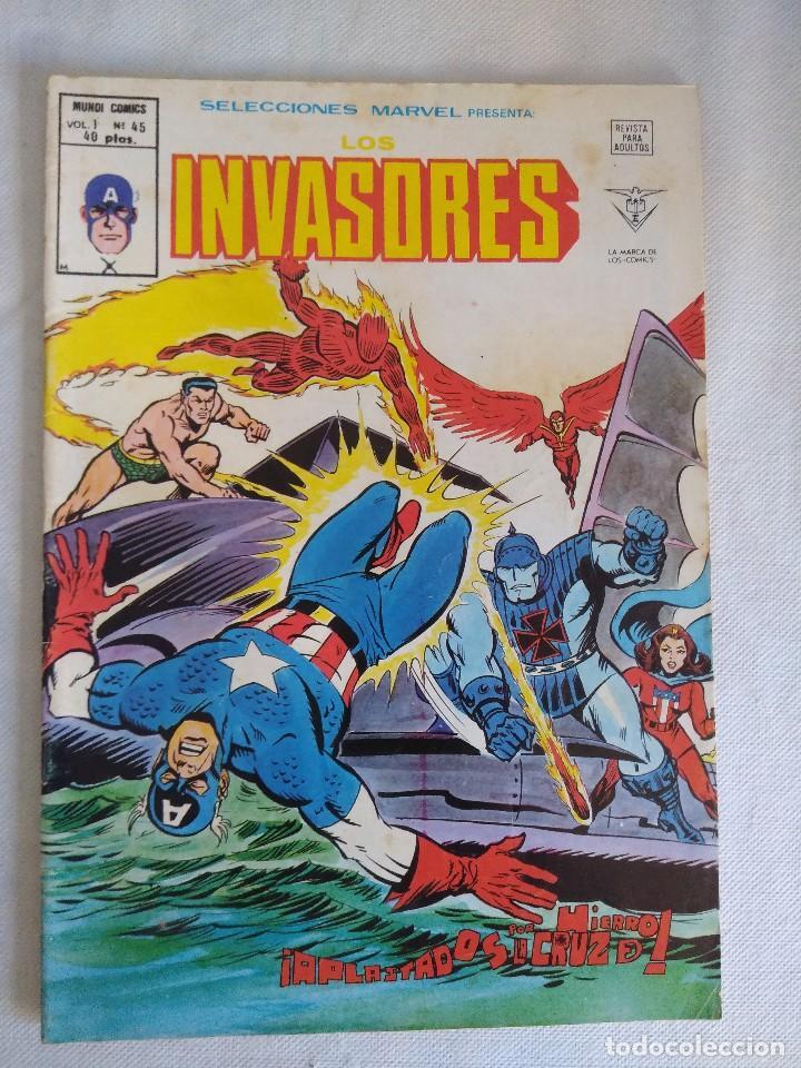 VERTICE/SELECCIONES MARVEL N45/LOS INVASORES. (Tebeos y Comics - Vértice - Otros)