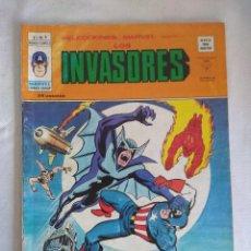 Cómics: VERTICE/SELECCIONES MARVEL N9/LOS INVASORES.. Lote 134045482