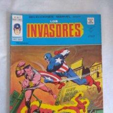 Cómics: VERTICE/SELECCIONES MARVEL N7/LOS INVASORES.. Lote 134045542