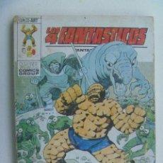 Cómics: LOS 4 FANTASTICOS : ALLA DONDE NO BRILLA EL SOL . VERTICE , 1974.. Lote 134061154