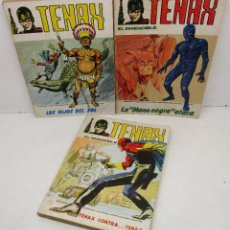 Cómics: LOTE 3 COMICS TENAX Nº 2-5-9, TACO VERTICE VOL. 1. Lote 134062859