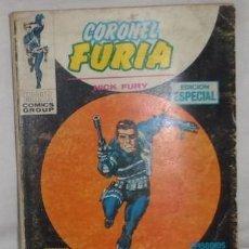 Cómics: CORONEL FURIA, NICK FURY EDICION ESPECIAL Nº 2, EL ORÍGEN DE ESCUDO. Lote 134081006