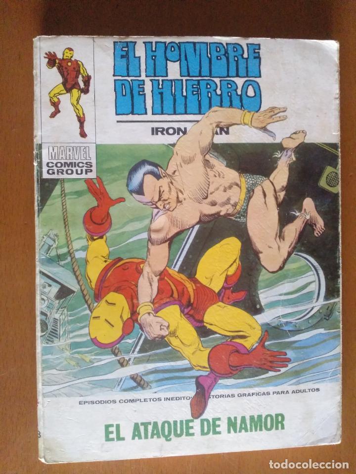 EL HOMBRE DE HIERRO Nº 28 * VERTICE TACO (Tebeos y Comics - Vértice - Hombre de Hierro)