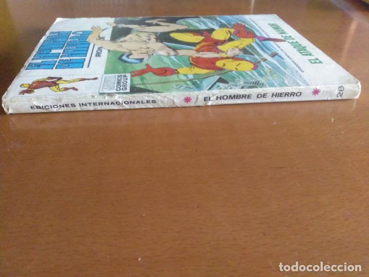 Cómics: EL HOMBRE DE HIERRO Nº 28 * VERTICE TACO - Foto 2 - 134110438