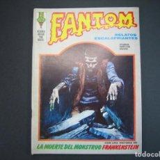 Cómics: FANTOM (1972, VERTICE) 22 · 1973 · LA MUERTE DEL MÓNSTRUO*** EXCELENTE ***. Lote 134353094