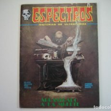 Cómics: ESPECTROS / ESPECTRO (1972, VERTICE) 15 · 1973 · ARRASTRADO A LA MUERTE. Lote 134353934