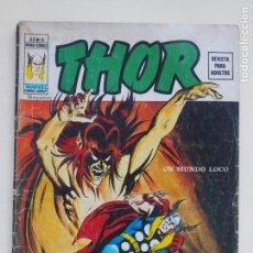 Cómics: THOR - VOLUMEN 2 - VOL. 2 - V.2 - N° 6 - UN MUNDO LOCO - VÉRTICE 1975. Lote 134358998
