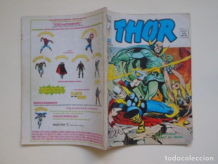 Cómics: THOR - VOLUMEN 2 - VOL. 2 - V.2 - N° 15 - FUEGO INFERNAL A TRAVES DEL MUNDO - VÉRTICE 1975 - Foto 6 - 134373254