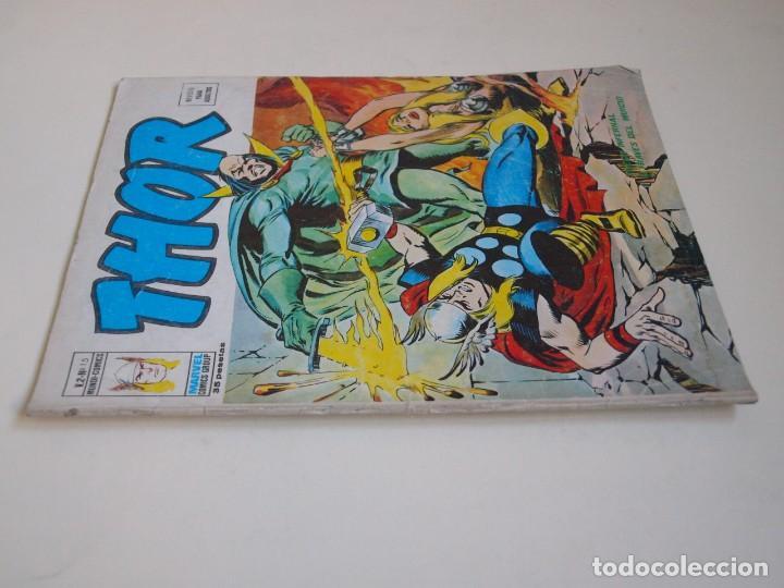 Cómics: THOR - VOLUMEN 2 - VOL. 2 - V.2 - N° 15 - FUEGO INFERNAL A TRAVES DEL MUNDO - VÉRTICE 1975 - Foto 5 - 134373254