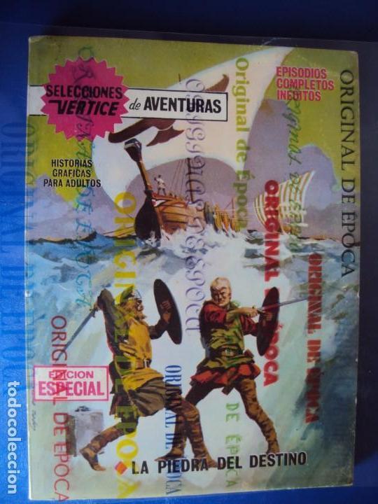 (COM-190900)COMIC SELECCIONES VERTICE DE AVENTURAS - LA PIEDRA DEL DESTINO - Nº6 - 25 PTS . (Tebeos y Comics - Vértice - Otros)
