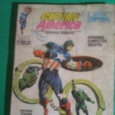 Cómics: COMIC VERTICE TACO CAPITAN AMERICA N10 COMPLETO CON RAYADURAS. Lote 134894570