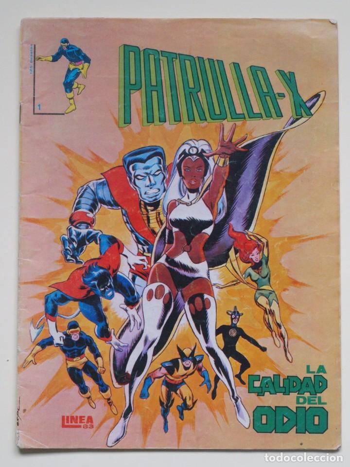 PATRULLA X - N° 1 - LA CALIDAD DEL ODIO - LINEA 83 (Tebeos y Comics - Vértice - Patrulla X)