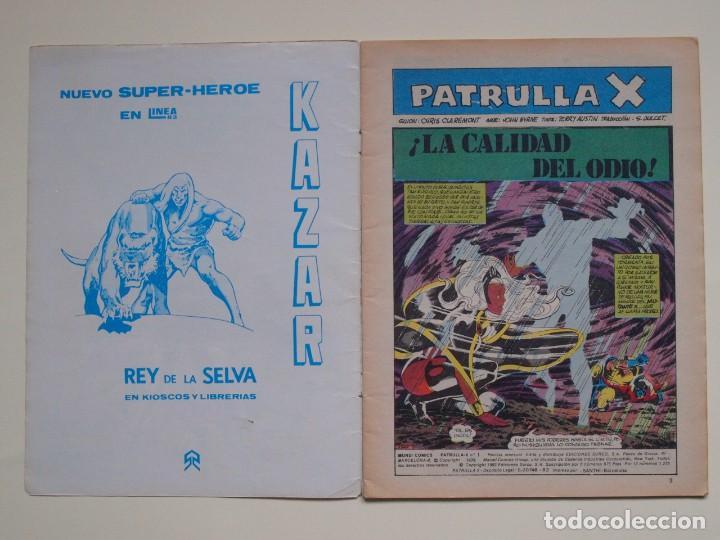 Cómics: PATRULLA X - N° 1 - LA CALIDAD DEL ODIO - LINEA 83 - Foto 3 - 134946214