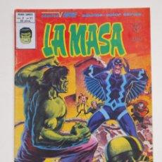 Cómics: LA MASA - VOLUMEN 3 - N° 37 - ¡ EL HOMBRE BRUTO EN EL PAIS ESCONDIDO ! - VERTICE - 1980. Lote 134947838