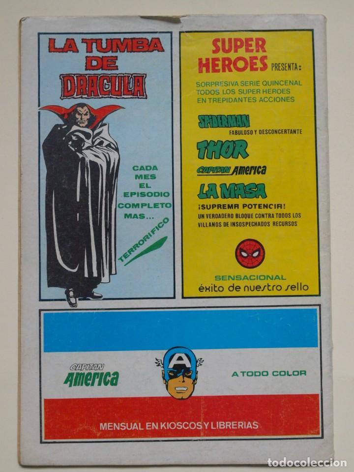 Cómics: LA MASA - VOLUMEN 3 - N° 41 - FURIA A 50.000 VOLTIOS - VERTICE - 1980 - Foto 2 - 134952198