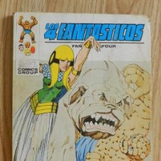 Cómics: VERTICE VOL 1 LOS 4 CUATRO FANTASTICOS Nº 59 UNIDOS O MUERTOS AÑO 1973 MARVEL. Lote 134979178