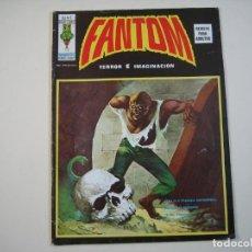 Cómics: FANTOM (1974, VERTICE) -V.2- 1 · 15-XI-1974 · HIELO Y FUEGO INFERNAL / SÁBADO NEGRO /. Lote 135056158