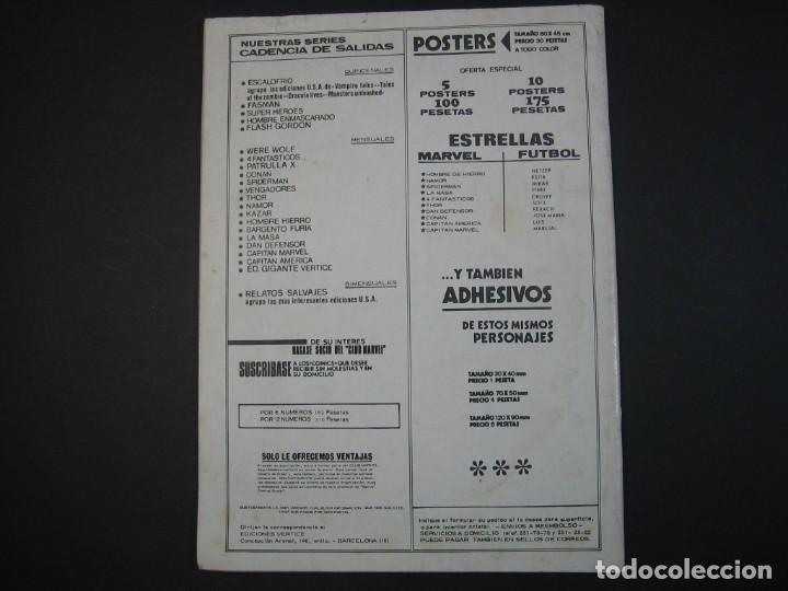 Cómics: FANTOM (1974, VERTICE) -V.2- 1 · 15-XI-1974 · HIELO Y FUEGO INFERNAL / SÁBADO NEGRO / - Foto 2 - 135056158